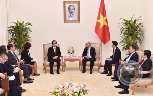 Thủ tướng Nguyễn Xuân Phúc Tiếp Chủ tịch JETRO