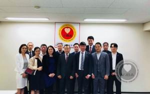 Hội doanh nghiệp Việt Nam tại Nhật tiếp đón Đại sứ đặc mệnh toàn quyền tại Nhật bản Vũ Hồng Nam ghé thăm .