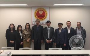 Ông Nguyễn Đức Quang, Tổng biên tập Tạp chí Nông thôn Việt đã có buổi giao lưu kết nối với Hiệp hội doanh nghiệp Việt Nam tại Nhật Bản tại trụ sở Tokyo