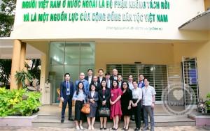 Hiệp hội Doanh nghiệp Việt Nam tại Nhật Bản ( VJBA) đã có buổi gặp mặt và làm việc với Hiệp hội Doanh Nhân Việt Nam ở nước ngoài (BAOOV).