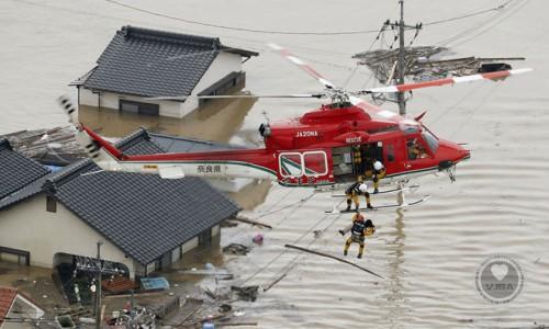 Miền Tây Nhật bị tàn phá dữ dội trong mưa lũ lịch sử