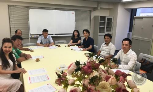 Họp Ban Chấp Hành Hiệp hội Doanh nghiệp Việt Nam tại Nhật Bản ngày 15/07/2018