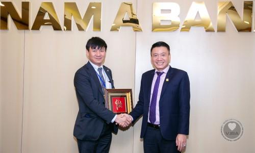 Đoàn Hiệp hội doanh nghiệp Việt Nam tại Nhật Bản (VJBA) và Ban lãnh đạo Ngân Hàng Nam Á có buổi làm việc tại TP.HCM