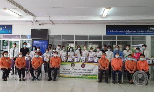 Hội người Việt tỉnh Udon Thani (Thái Lan) chia sẻ khó khăn với lưu học sinh Việt